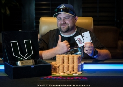 Tony Piscitelli Wins the WPTDeepStacks Reno Summer Main Event