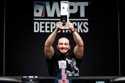Jonathan Khalifa takes down the PMU.fr WPTDeepStacks Cannes Main Event; Earns over €60,000!