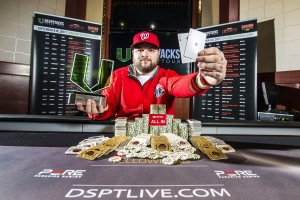 Rex Clinkscales Wins DSPT Battle of Alberta Edmonton Main Event