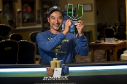 Michael Lin Wins the WPTDeepStacks Central California Main Event